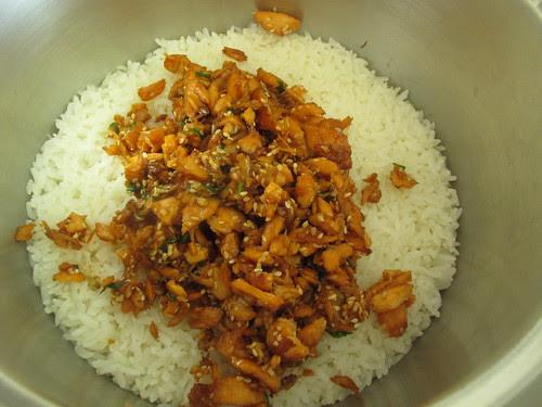 Salmon Onigiri (Rice Ball)