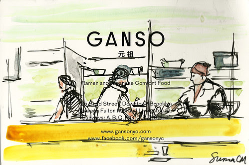 Chefs at Ganso, Brooklyn NY