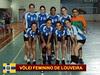 Vôlei adulto feminino de Louveira começa temporada ganhando título em Amparo