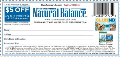 printable natural balance cat food coupons cat food coupons