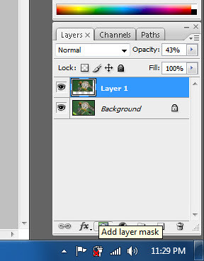 add layer mask during manual focus stacking in adobe photoshop