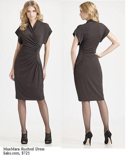Saks.com - MaxMara - Ruched Dress