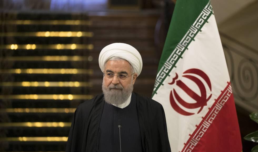 El presidente iraní Hasan Rohaní, en marzo pasado en Teherán.