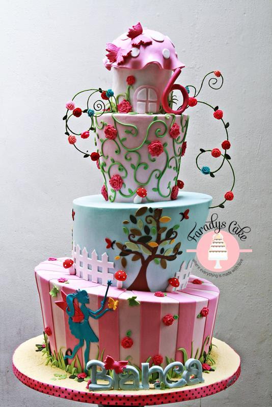 Cake Bintaro Fondant Bintaro Birthday Jakarta