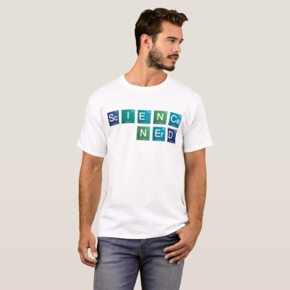Science Nerd Elements t-shirt