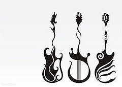 guitar pictures tattoo