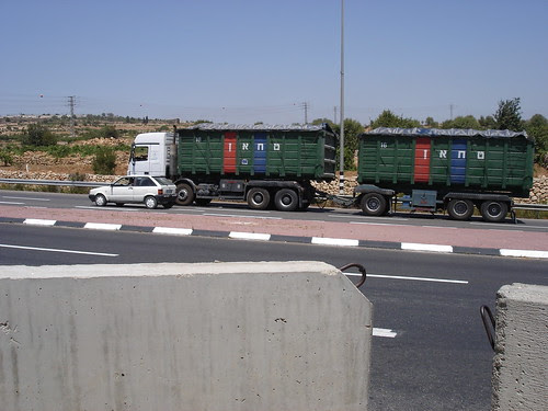 On the road going past Efrat