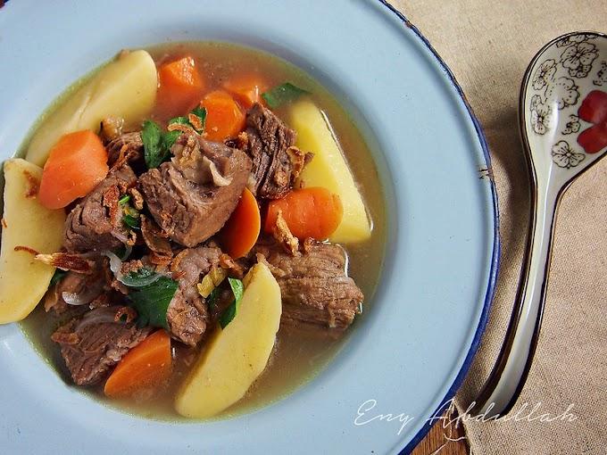 Sup Daging Berempah