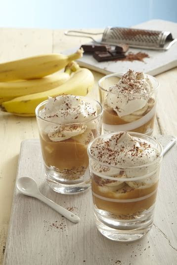 Good Natured Banoffee Pie Pots recipe   MyDish