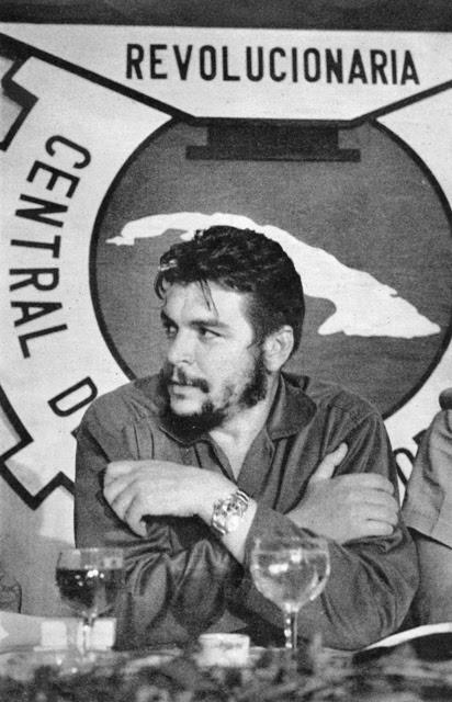Ernesto Che Guevara en Cuba