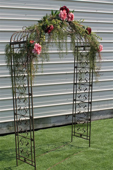 rent   wwwsistersenvycom arched metal arbor rustic
