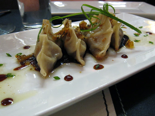 duck potstickers