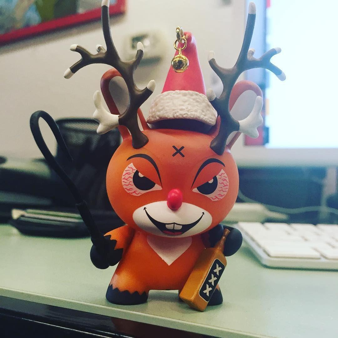 Kidrobot Rise of Rudolph Holiday Mini Vinyl Figure