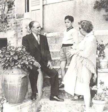 Habib Bourguiba en famille