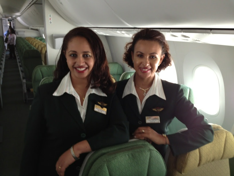 Inside EThiopian's 787