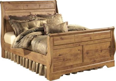 ashley bittersweet king sleigh bed homemakers furniture