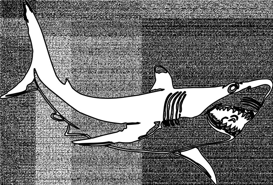 Free Great White Shark Cartoon, Download Free Clip Art ...
