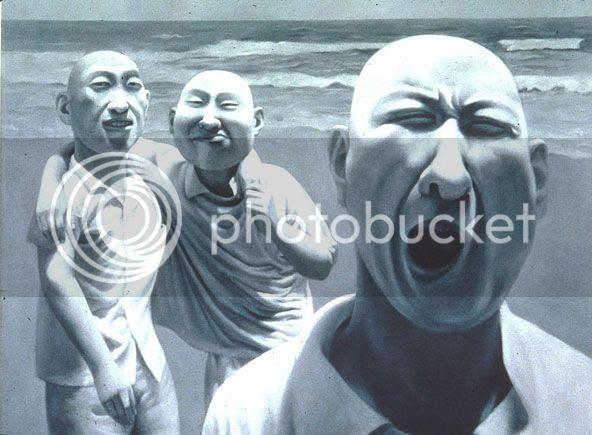 homme de Fang Lijun Chine