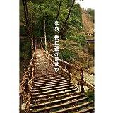 メッセージ入りポストカード「まあ、先に進みますか」吊り橋ハガキpostcard-photo by 絶景.com