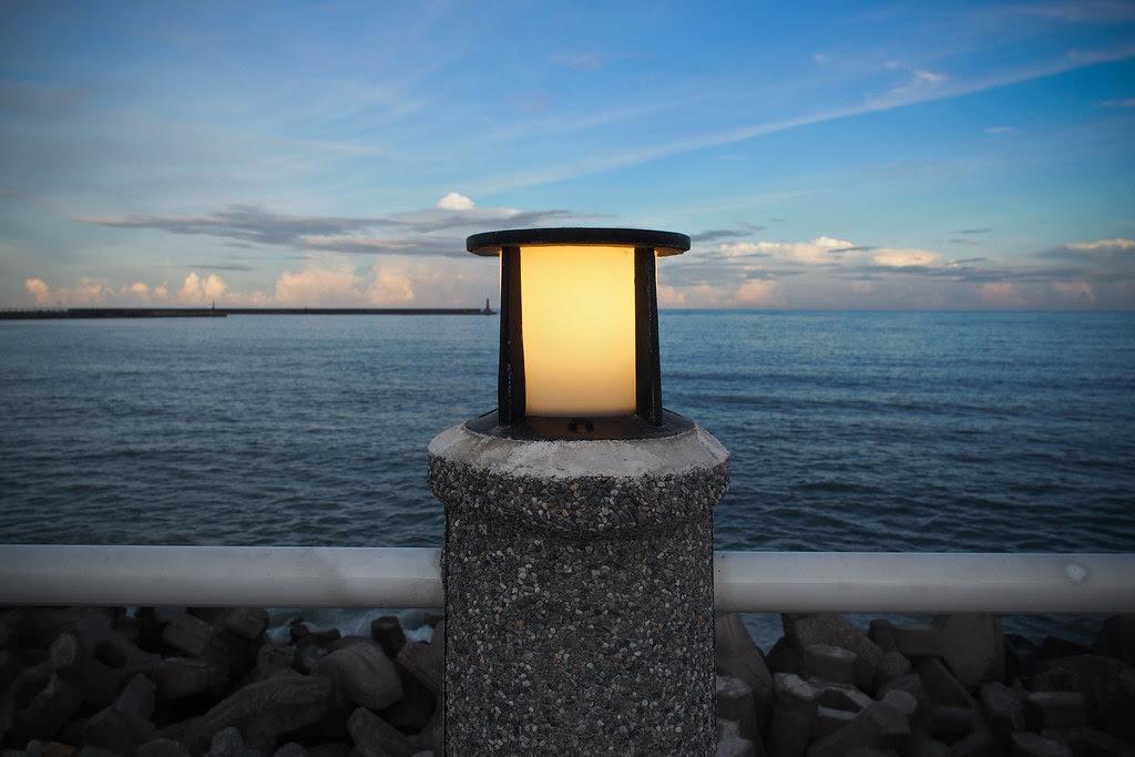 安靜氛圍  南濱海岸