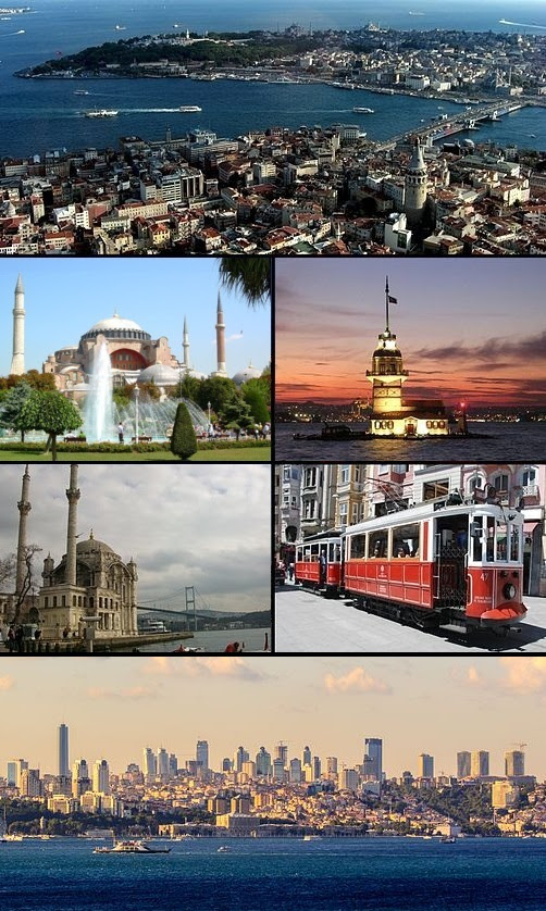 Constantinople collage