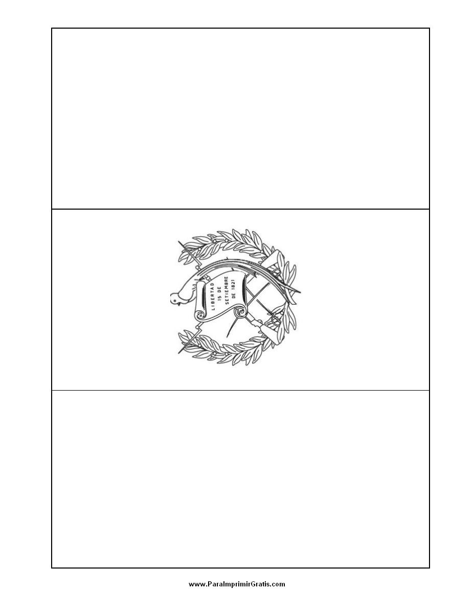Bandera De Guatemala Para Colorear Para Imprimir Gratis