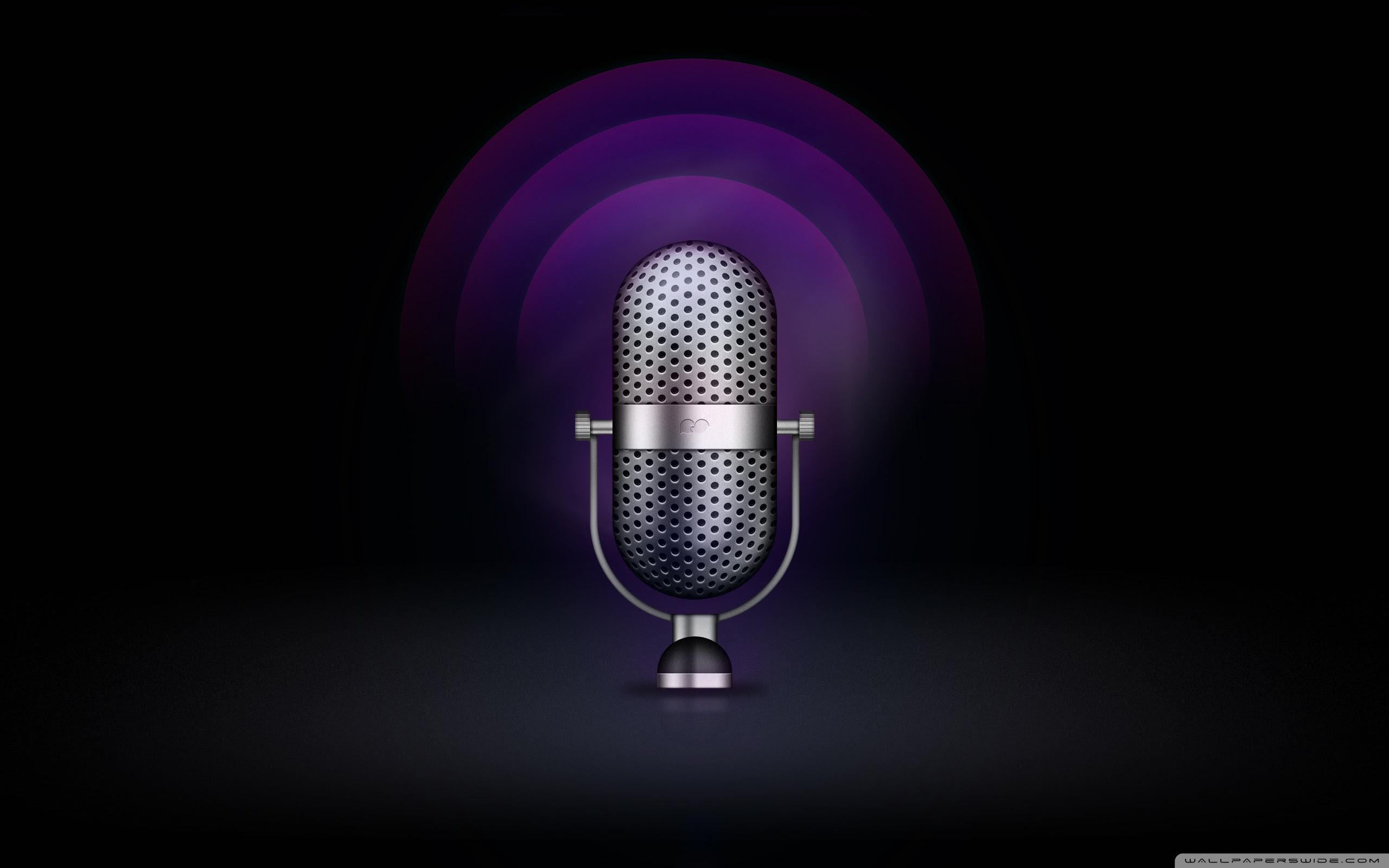 Radio Microphone 4k Hd Desktop Wallpaper For 4k Ultra Hd Tv