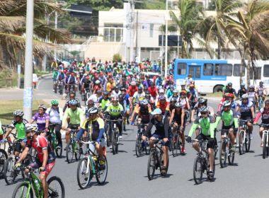 Passeio Cicloturístico reúne centenas de pessoas em percurso de 25 Km