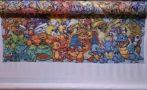 Facebook: española tejió 151 Pokémon en punto cruz por su hijo
