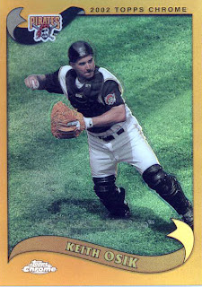 keith osik baseball card