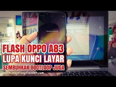 Flash Oppo A83 (CPH1729) Ram 3/32 Forgot Screen Lock, PIN, Password