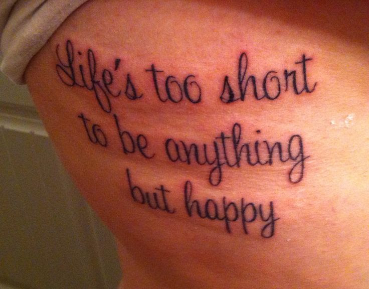 Pictures Of Life Lesson Quotes Tattoos Kidskunstinfo