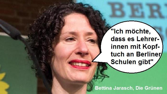 Grüne Berlin Wollen Lehrerinnen Mit Kopftuch Pi News