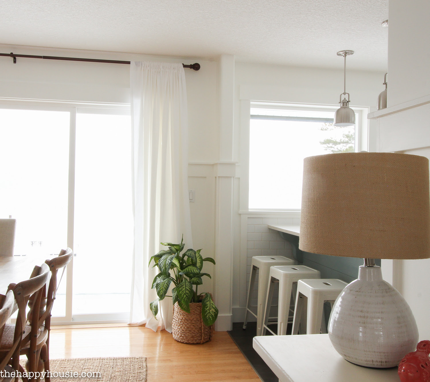 Painting Simply White in the Dining Room & Kitchen - The ...