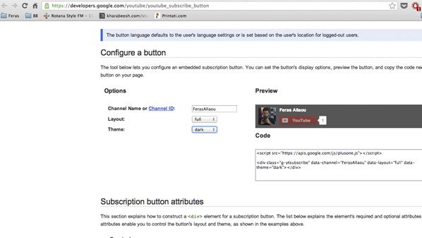 كثيراً مايرغب المستخدم إضافة زر داخل موقعه الشخصي أو صفحته الشخصية