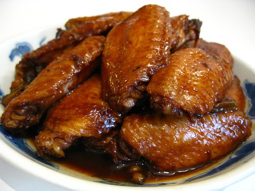 Soy Sauce Chicken Wings 紅燒雞翼 | Chinese Recipes at ...
