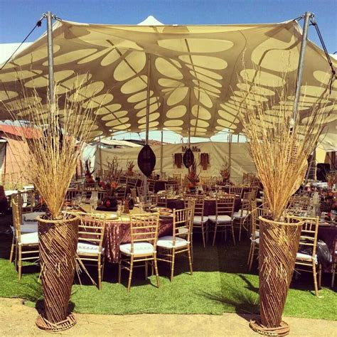 Tswana Traditional Wedding Decor Pictures