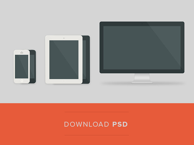 iphone ipad devices ios mobile freebie icons