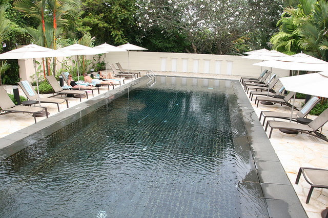 Swimming pool at Spa Botanica