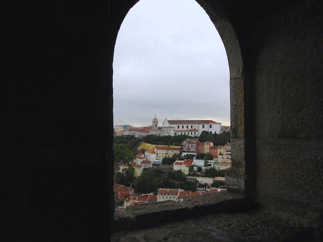 Castelo de São Jorge Lisboa torre