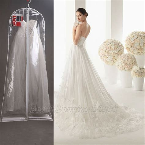 clear wedding dress cover storage bags dustproof large