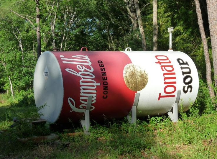 Campbell's Soup Can Propane Tank