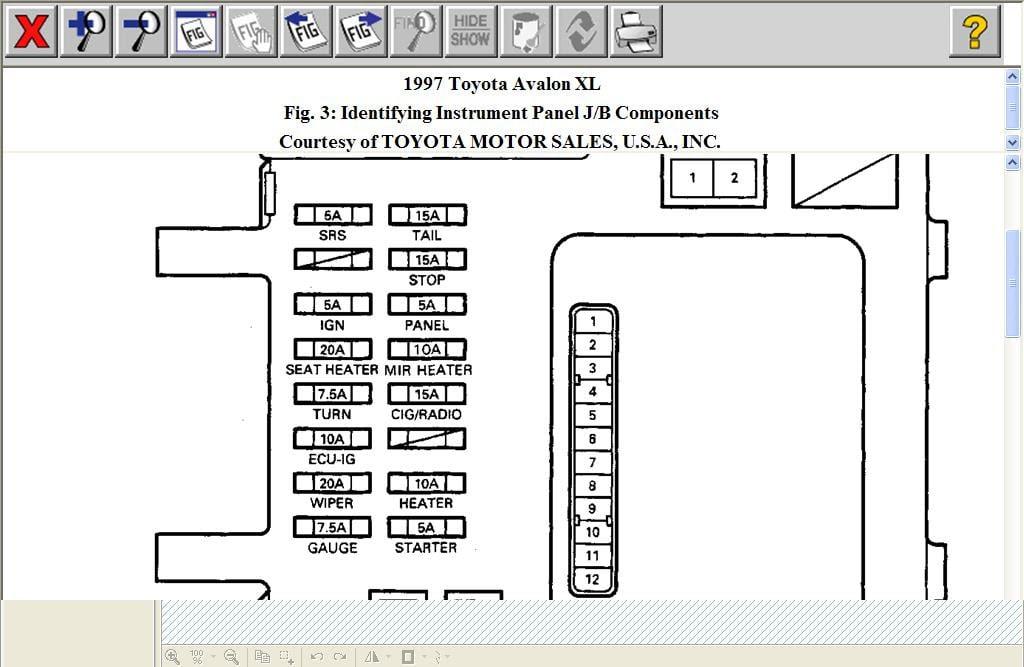 27 1995 Toyota Avalon Radio Wiring Diagram - Wiring ...