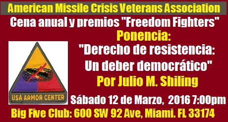 American Missile Crisis Veterans  Association event