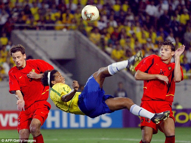 Ronaldinho was an entertainer and he delighted many fans with his flair, skill and imagination