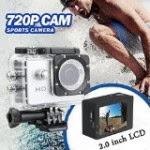 Svc355 Hd Action Camera With Waterproof Case By Sharper Image Best