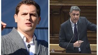 Albert Rivera i Xavier García Albiol
