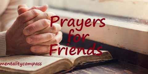 Prayer For A Friend What Are The Benefits Mentalitycompass