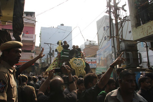 Ashura Hyderabad Bibi Ka Alam Procession 2012 by firoze shakir photographerno1