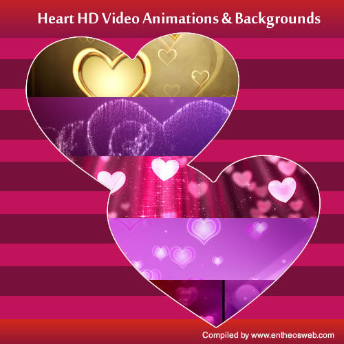 Best Heart Hd Video Animations Backgrounds Entheos